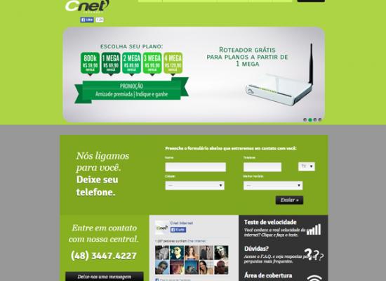Cnet Provedor de Internet