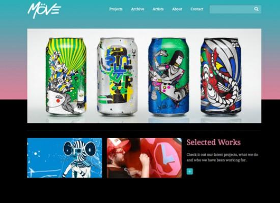 Möve Website e Sistema